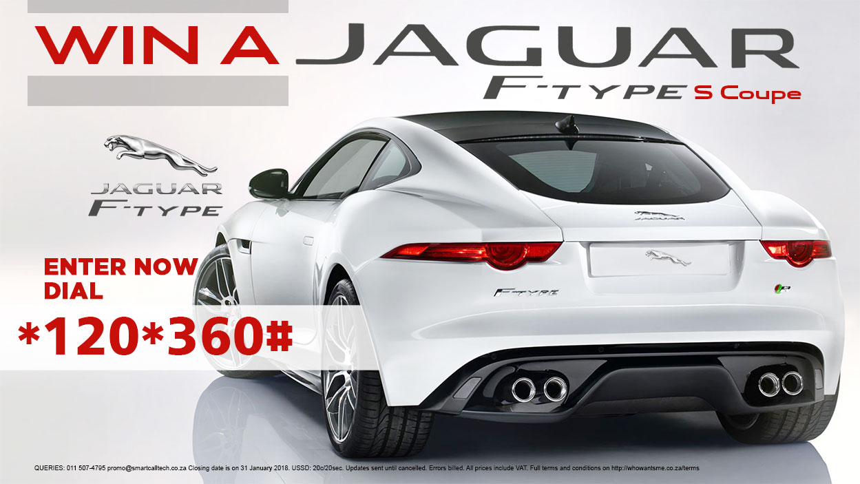 Win a Jaguar F-Type